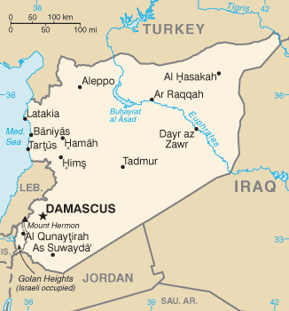 Harta atac Siria