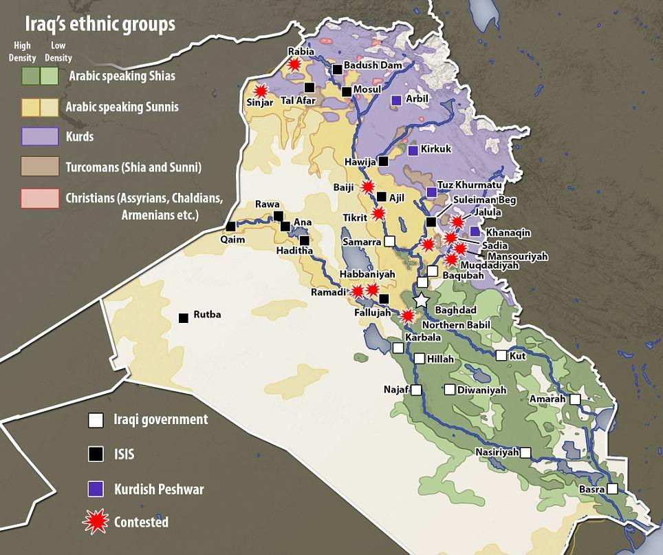 Populatii si triburi Irak