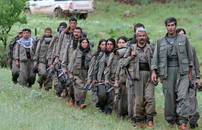 Peshmerga in Irak