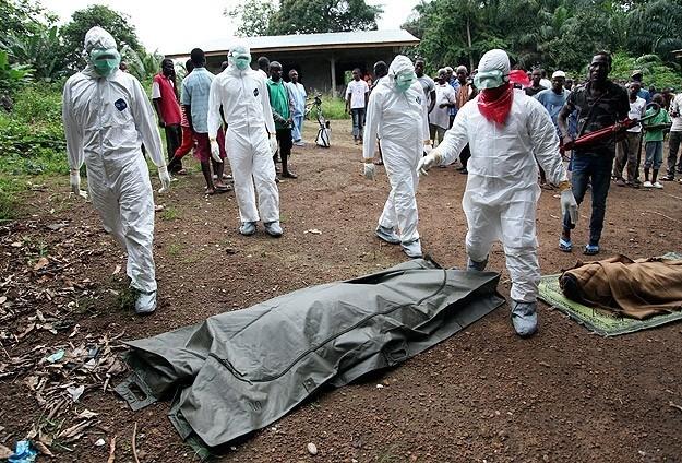 ebola victime