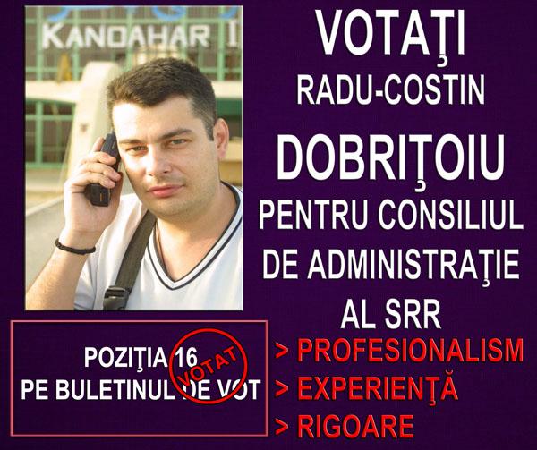 Radu Dobritoiu alegeri SRR 2017