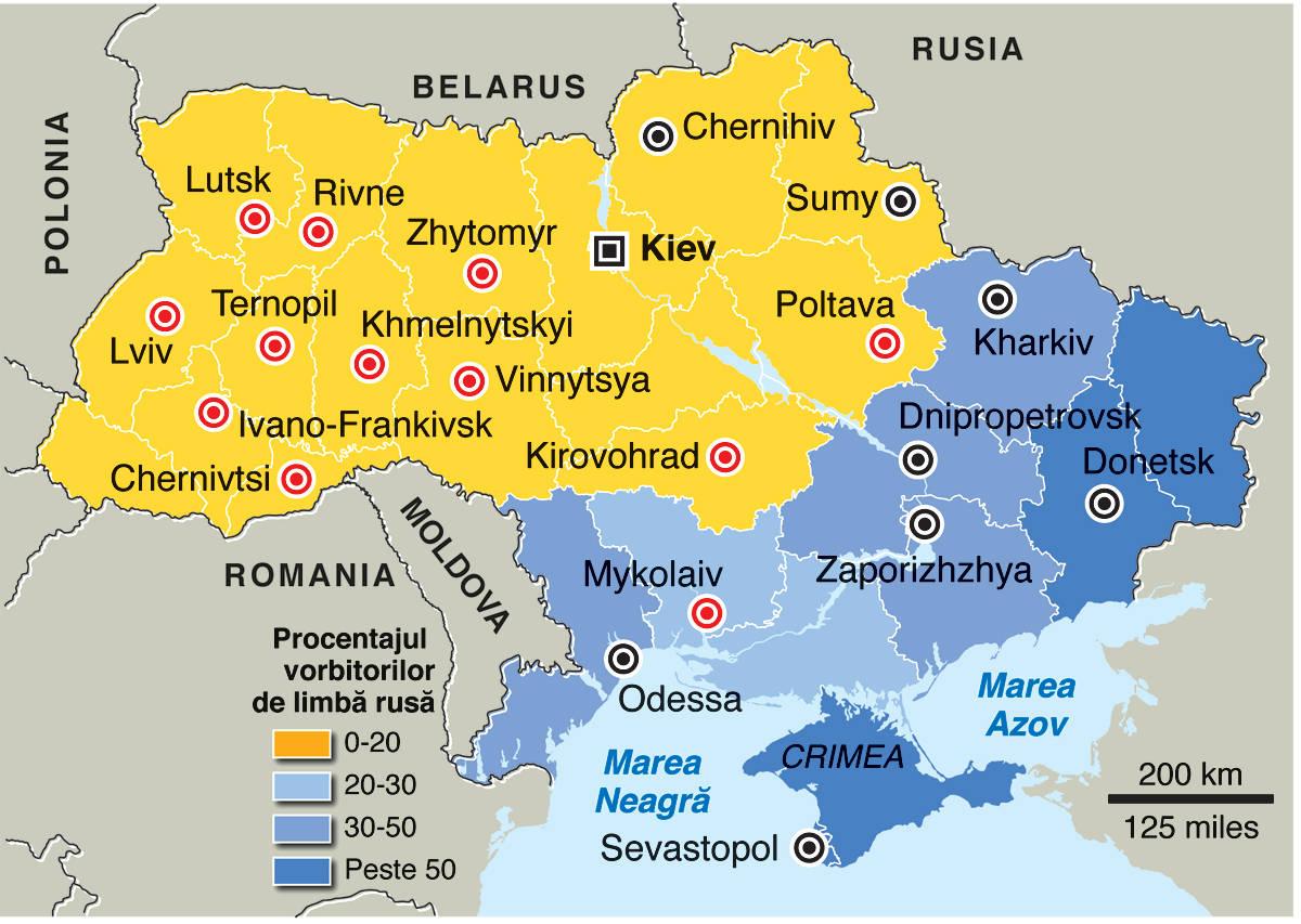 Ucraina Harta Radu Costin Dobriţoiu Jurnalist