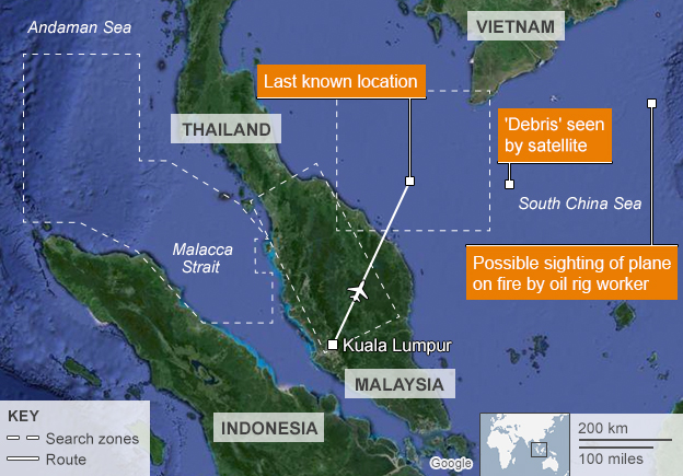zborul MH370