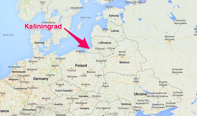 Mica Rusie Kaliningrad