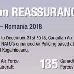 CAF mission Romania f18