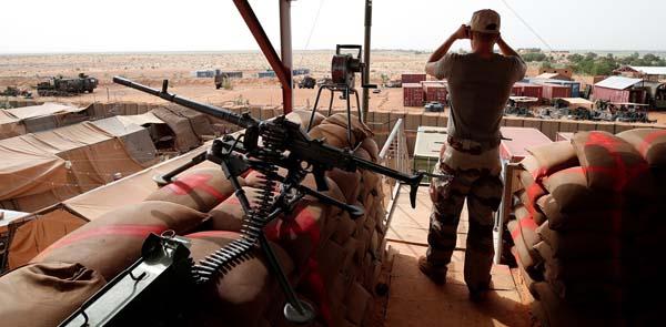 Soldaţi francezi Mali