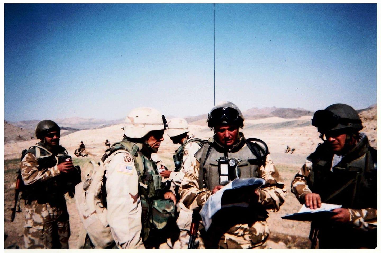 General Ciucă în Kandahar