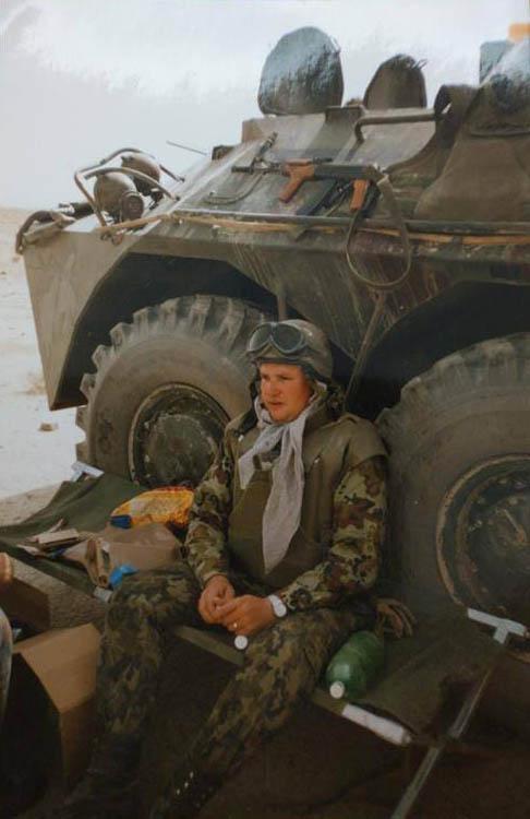 Nicolae Ciucă în Afganistan