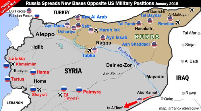 Baza militare rusesti in Siria